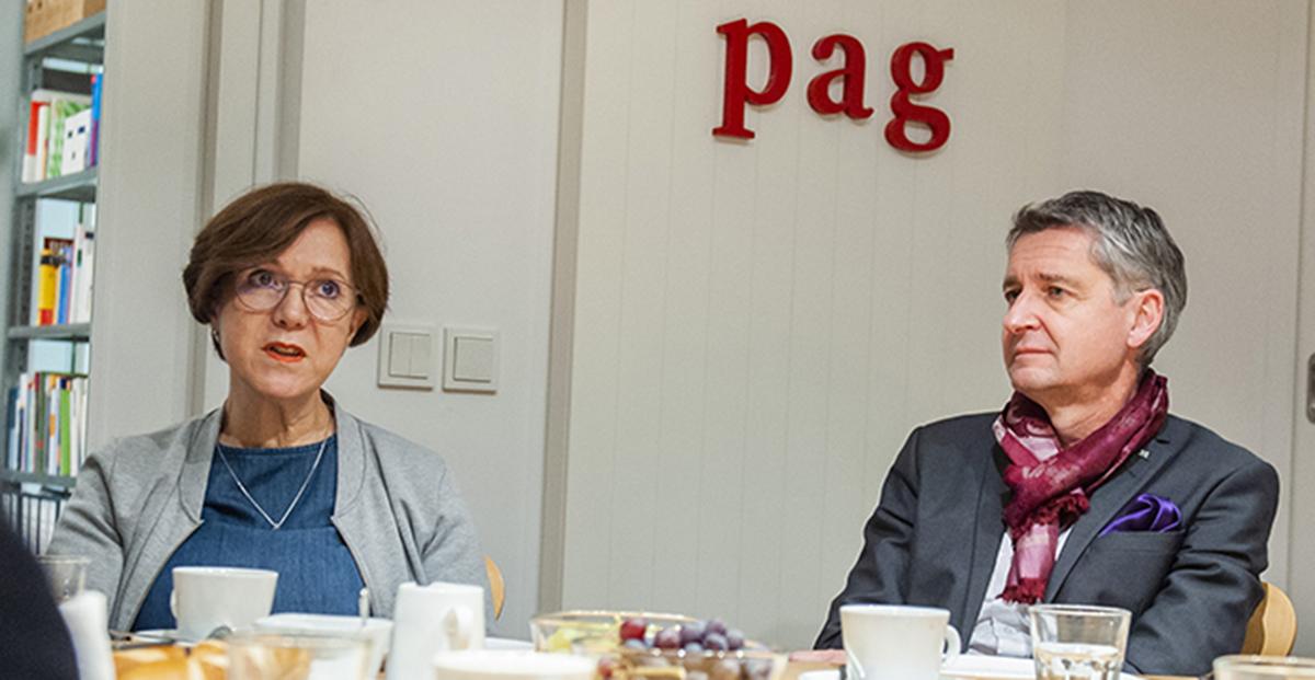 Martina Dollman und Dr. Götz Geiges © pag, Fiolka